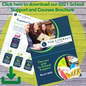 the literacy company brochure image