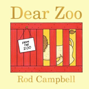 Dear Zoo front cover
